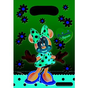 MINNIE MOUSE dot - Slikposer - 6 stk.