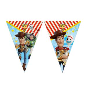 Toy Story 4 banner, 9 flag, 1 stk